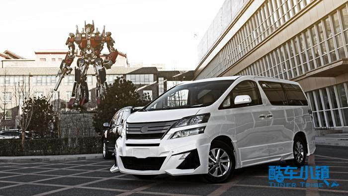 进口丰田埃尔法改装日本原装原厂外观包围高清图片