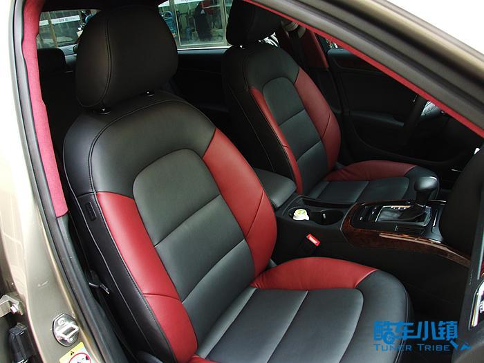 汽车座椅黑红搭配