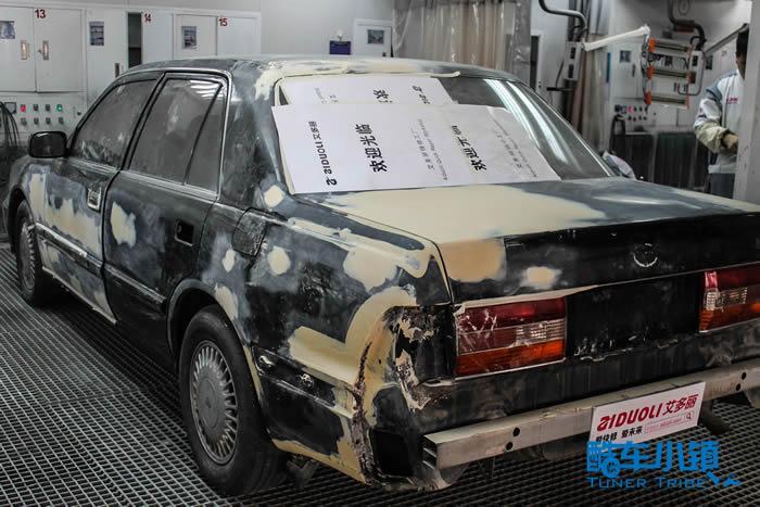 艾多丽全车翻新丰田皇冠